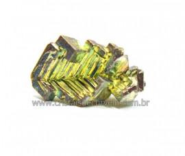 Bismuto Mineral ou Bismuth Stone Pedra Natural Cod BB3770