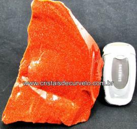 Pedra Do Sol Pigmento Dourado Para Lapidar Colecionador ou Esoterismo Cod 1.019