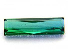 Gema Turmalina Azul Pedra Natural Montagem Joias Cod TA4675