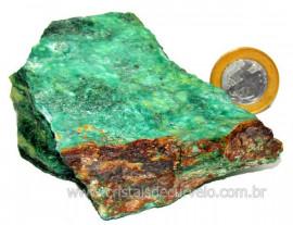 Fuxita Mica Verde Para Colecionador Pedra Natural Cod FM6905