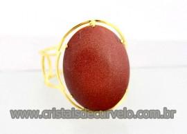 Bracelete Fixo Grande Pedra do Sol Dourado Ouro REFF BG1267