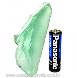 Obsidiana Verde Pedra Vulcânica Para Colecionador Cod 110340