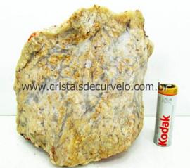 Calcedonia Geodo Pedra Natural Bruto de Garimpo Para Colecionador Cod 1.058