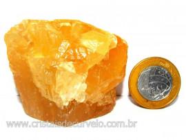 Calcita Mel Pedra Natural P/ Coleção e Esoterismo Cod 110306