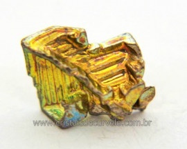 Bismuto Mineral ou Bismuth Stone Pedra Natural Cod BB8401