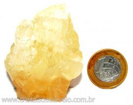 Calcita Mel Pedra Natural P/ Coleção e Esoterismo Cod 110318