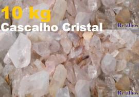RETALHOS de Cristal pra Fazer ou Montar seu Proprio Orgonite Pct. 10  kg