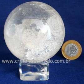 Bola Cristal Boa Qualidade Esfera Pedra Natural Cod 119405
