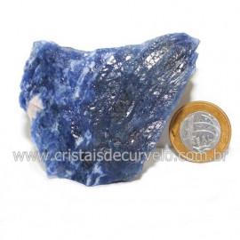 Sodalita Azul Natural de Garimpo Para Colecionar Cod 122885