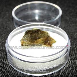 Labradorita Canadense Mineral Natural No Estojo Cod 114219