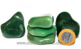 01 kg Massageador De Seixo Quartzo Verde ATACADO REFF MS4143