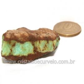Crisoprasio Bruto Natural Pedra Familia da Calcedonia Cod 123180