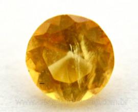 Citrino Gema Brilhante Lapidado Montagem Joias Finas Pedra Natural Reff GC3884