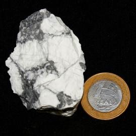 Howlita Pedra Natural P Colecionador e Esoterismo Cod 126799