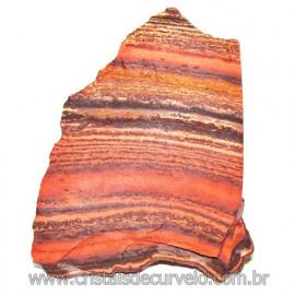 Jaspe Rajado Bruto Natural Pedra Ideal P/ Coleçao Cod 116186