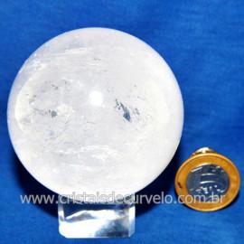 Bola Cristal Comum Qualidade Pedra Uso Esoterico Cod 119766