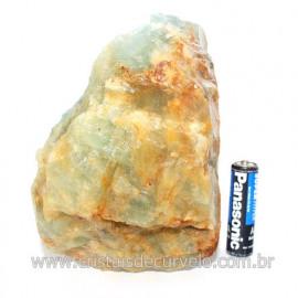 Onix Argentino ou Onix Azul Pedra Bruto Natural Cod 121505