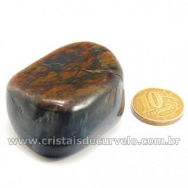 Olho de Falcão Rolado Pedra Natural Origem África Cod 127004