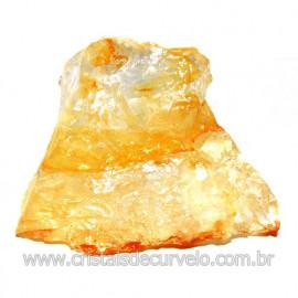 Hematoide Amarelo Pedra Bruto Quartzo Natural Cod 114659