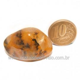 Hematoide Amarelo com Inclusão Dendrita Pedra Natural Cod 126201
