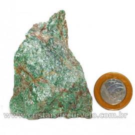 Fuxita Mica Verde Para Colecionador Pedra Natural Cod 126814