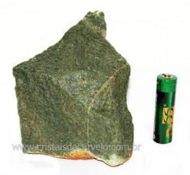 Basalto Verde Bruto Para Colecionador ou Estudante Cod BV3681