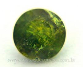 Gema Turmalina Verde Pedra Natural 0.7ct 5mm Reff TV3257
