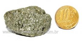 Pirita Natural Pedra Comum Cubos Cor Ouro a Cinza Cod PC2215