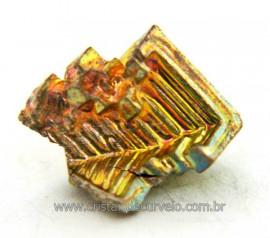 Bismuto Mineral ou Bismuth Stone Pedra Natural Cod BB6504