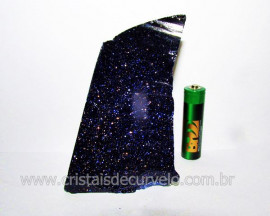 Pedra Estrela Pigmento Dourado Para Lapidar Colecionador ou Esoterismo Cod 308.5