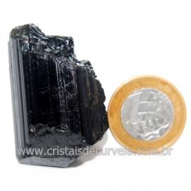 Turmalina Preta Pedra Extra Firme e Dura Natural Cod 119429