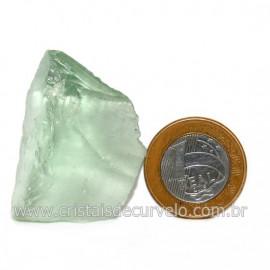 Obsidiana Verde Pedra Vulcanica Ideal P/ Coleçao Cod 128430