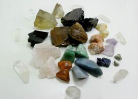 Kit de Minerais Para Curso Radiestesia e Radionica Nivel I Com Prof Elias A Neto