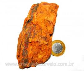 Laterita Pedra Bruto Natural Importado P Colecionador Cod LB8127