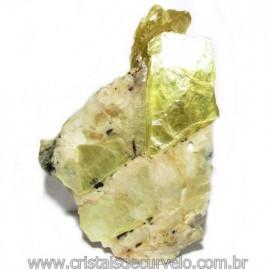 Chapa de Mica Amarela Bruta Natural de Garimpo Cod 115588