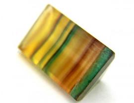Fluorita Gema Lapidado Pedra Natural Para Montagem de Joias Finas Cod GF2605