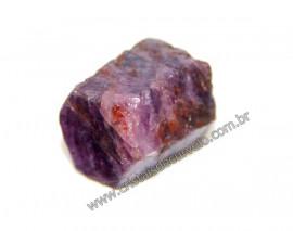 Rubi Canudo Sextavado Pedra Bruto Natural Garimpo Cod 107441