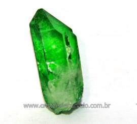 Ponta Crystal Aura Apple ou Maça Verde Pedra Bruta Cod AA7198