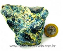 Apatita Azul Em Bruto Pedra Media  Para Esoterico ou Colecionador Cod 288.5