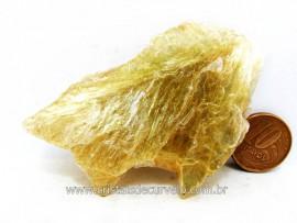Chapa de Mica Amarela ou Lamina de Mica Amarela Bruta Natural de Garimpo  Cod 36.4