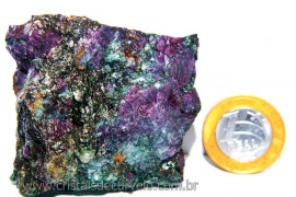 Rubi Pedra Bruto Natural na Matriz de Corindon Cod RC5443