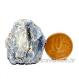 Angelita Azul Pedra Natural Ideal P/ Esoterismo Cod 125928