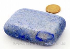 Sabonete Massageador Pedra QUARTZO AZUL Mineral de Garimpo Cod 121.6