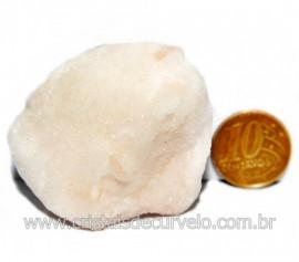 Selenita Laranja Pedra Natural Para Esoterismo Cod 124001