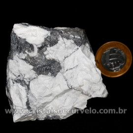 Howlita Pedra Natural P Colecionador e Esoterismo Cod 126803