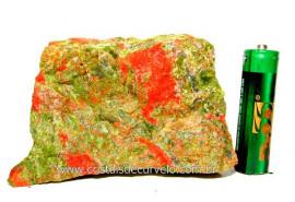 Unakita Pedra Bruta Natural De Garimpo Boa Cor Cod UB9944