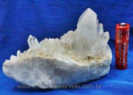 Drusa de Cristal Exótica Para Coleção Cod DE3780
