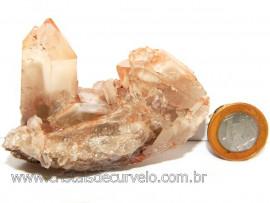 Drusa de Cristal Exótica P/Coleção Pedra Especial Cod 108958