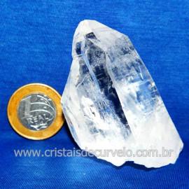 Lemuria Pequeno Quartzo Comum Cristal Lemuriano Natural Cod 119453