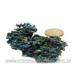 Sílicio Arco-Íris Pedra Natural Redutora de Radiação Cod 123344